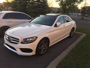 2015 Mercedes c300 Amg Package Lease Transfer
