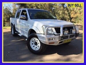 2004 Holden Rodeo RA LX White 4 Speed Automatic Crew Cab P/Up Lansvale Liverpool Area Preview