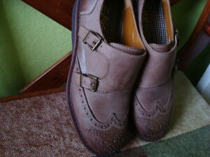 MEN'S GBX LEATHER SHOES SIZE 9.5/42 1/2 ''NEW'' West Island Greater Montréal image 10