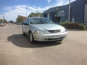 2000 Ford Falcon Auii Futura Silver 4 Speed Automatic Sedan Newport Hobsons Bay Area Preview