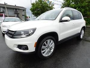 2013 VOLKSWAGEN TIGUAN HIGHLINE 4MOTION (AUTOMATIQUE, FULL!!!)