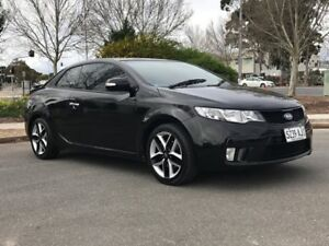 2010 Kia Cerato TD MY10 Koup Black 5 Speed Manual Coupe Somerton Park Holdfast Bay Preview