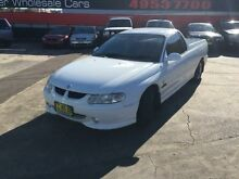 2001 Holden Commodore VU White 4 Speed Automatic Utility Cardiff Lake Macquarie Area Preview