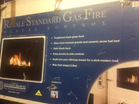 Winther Browne Royale Standard Gas Fire Manual Control
