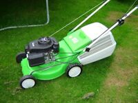 Lawn Mower, virtually brand new cost £320 sell for £195 other mower available too