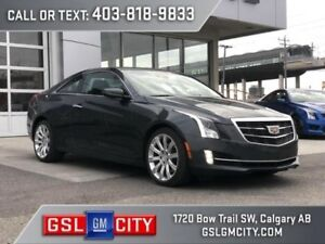 2017 Cadillac ATS Coupe Luxury AWD 2.0L Turbo Engine