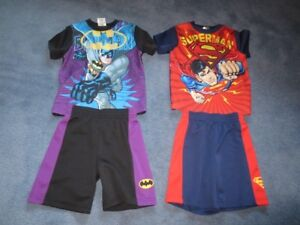4T Superman & Batman Set