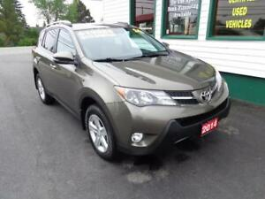 2014 Toyota RAV4 XLE AWD for only $213 bi-weekly all in! (5yrs)