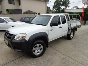 2010 Mazda BT-50 09 Upgrade Boss B3000 Freestyle DX+ White 5 Speed Manual Cab Chassis Sylvania Sutherland Area Preview