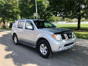 2006 NISSAN PATHFINDER  , AUTOMATIQUE ,AC,  7 PASSAGERS , 4X4