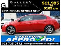 2010 Nissan Sentra SE-R  $109 bi-weekly APPLY NOW DRIVE NOW