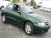 **2004 CHEVROLET CAVALIER MINT LOW LOW LOW KMS** GET IN AND GO!