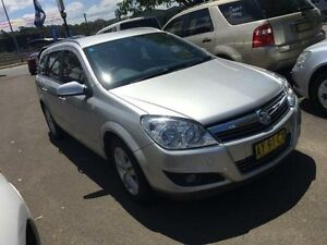 2008 Holden Astra AH MY08 CDX Silver 4 Speed Automatic Wagon Campbelltown Campbelltown Area Preview