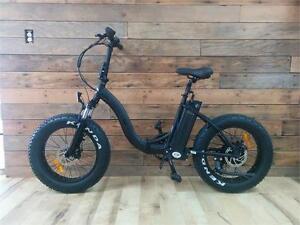 JUST ARRIVED ! T4B Black FAT Electric Folding Fat Tire Bike 350W