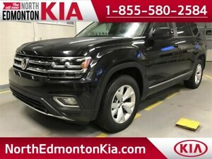 2018 VW Atlas HIGHLINE **LEATHER-NAV-SUNROOF**
