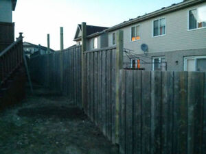 Fence Post Replacement Specialist Cambridge Kitchener Area image 5