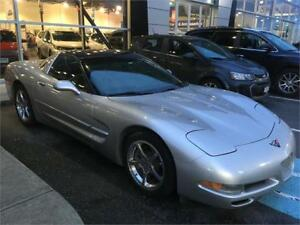 2004 Chevrolet Corvette C5 coupe just 90.000 km automatic silver