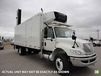 2014 International 4400 6x4, Used Reefer Van