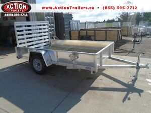 SOLID SIDED ALL ALUMINUM UTILITY TRAILER - LIGHT WEIGHT 3YR WRTY London Ontario image 1