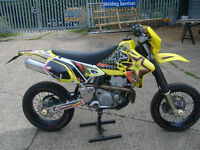 SUZUKI DRZ400 DR 400 DRZ SK1 YELLOW 2001 hpi clear
