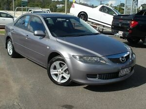 2006 Mazda 6 GG 05 Upgrade Classic Grey 5 Speed Auto Activematic Sedan Wacol Brisbane South West Preview