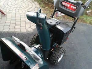 "Sears Craftsman Snowblower 24"", Like New, Free Delivery"