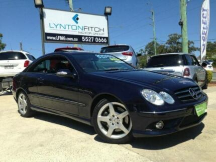 2008 Mercedes-Benz CLK280 C209 MY08 Avantgarde Blue 7 SPEED Automatic Coupe Southport Gold Coast City Preview