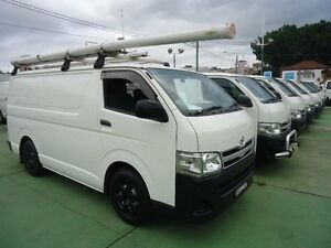 2010 Toyota Hiace TRH201R MY11 Upgrade LWB White 5 Speed Manual Van Canada Bay Canada Bay Area Preview