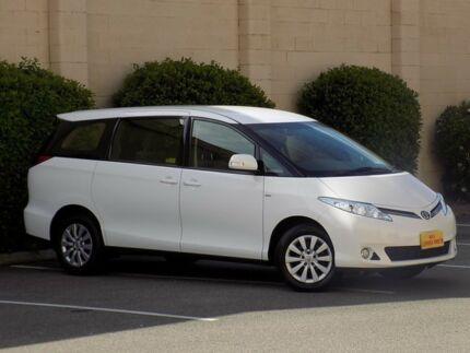 2014 Toyota Tarago ACR50R MY13 GLi White 7 Speed Constant Variable Wagon