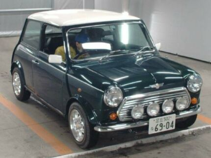 1995 Rover Mini Limited Edition Cooper Green Manual Coupe