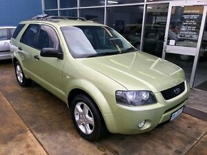2004 Ford Territory SX TX (4x4) Green 4 Speed Auto Seq Sportshift Wagon Hobart CBD Hobart City Preview