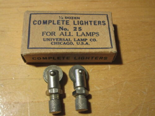 2 Miners SHANKLIN STRIKERS FOR CARBIDE LAMPS - New/Old Stock!!