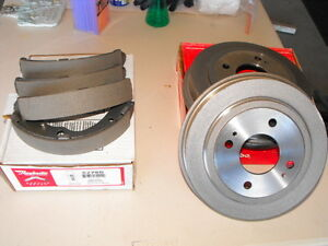Never used Honda brake drums & shoes