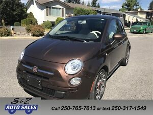 2012 Fiat 500 1 owner-2 sets of tires - low km!
