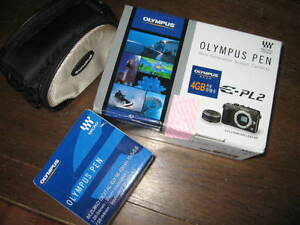 new Olympus PEN E-PL2