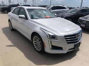 2015 Cadillac CTS Sedan Luxury AWD 2.0 T white NAV Sunroof