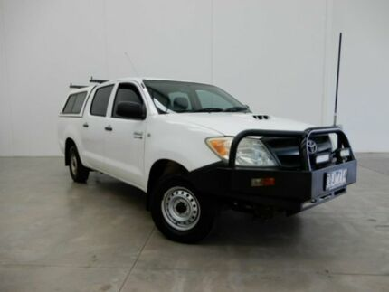 2005 Toyota Hilux KUN16R MY05 SR 4x2 White 5 Speed Manual Utility Braeside Kingston Area Preview