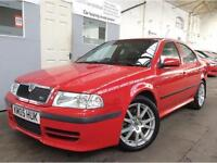 "Skoda Octavia 1.8 vRS 5dr + LOW MILEAGE + LONG MOT + 17"" ALLOYS"
