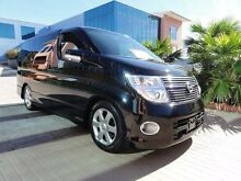 2009 Nissan Elgrand HIGHWAY STAR E51 Black Automatic Wagon Kirrawee Sutherland Area Preview
