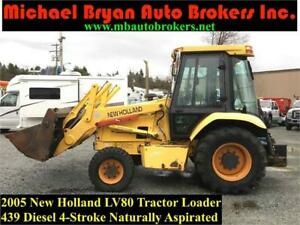 2005 NEW HOLLAND LV80 SKIP LOADER *4X4* 4-1 BUCKET *TURBO DIESEL