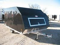 2016 Ameralite Hybrid 2 Place Snowmobile Trailer