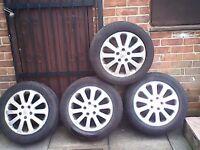 vauxhall 16 inc alloy wheels