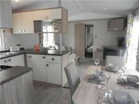 BRAND NEW STATIC CARAVAN FOR SALE AT SANDY BAY HOLIDAY PARK, 2017 SITE FEES INCLUDED, LOW DEPOSIT