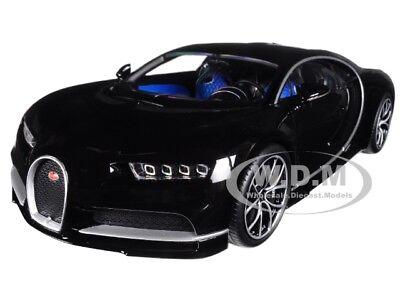Bugatti Chiron Black 1 18 Diecast Model Car By Kyosho C09548bk