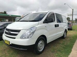 2009 Hyundai iLOAD TQ White 5 Speed Automatic Van