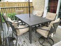 Patio set in new condition