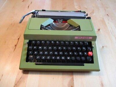 Reiseschreibmaschine Splendid