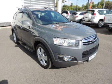 2012 Holden Captiva CG Series II 7 AWD LX Grey 6 Speed Sports Automatic Wagon Oakleigh Monash Area Preview