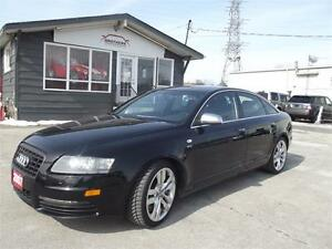 2007 Audi S6 QUATTRO|AWD|NAV|CAM|SUNROOF|LEATHER