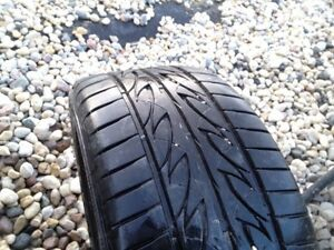 1 - 245/45/18 Firestone Firehawk Indy500 Lots of tread